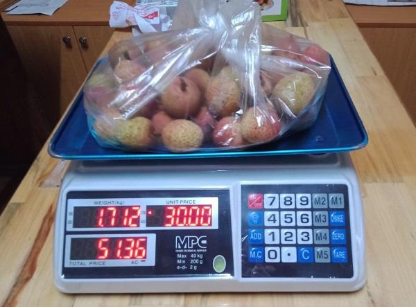 Cách sử dụng cân tính tiền 30kg