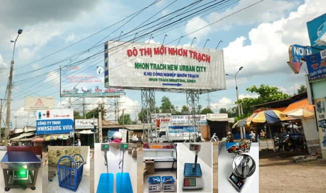 Cân điện tử tại Nhơn Trạch Đồng Nai