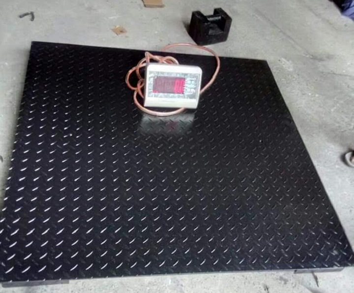 Cân sàn điện tử 500kg tại KCN Long Thành Đồng Nai