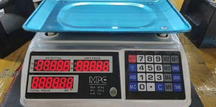 Cân tính tiền điện tử 100gr-30kg