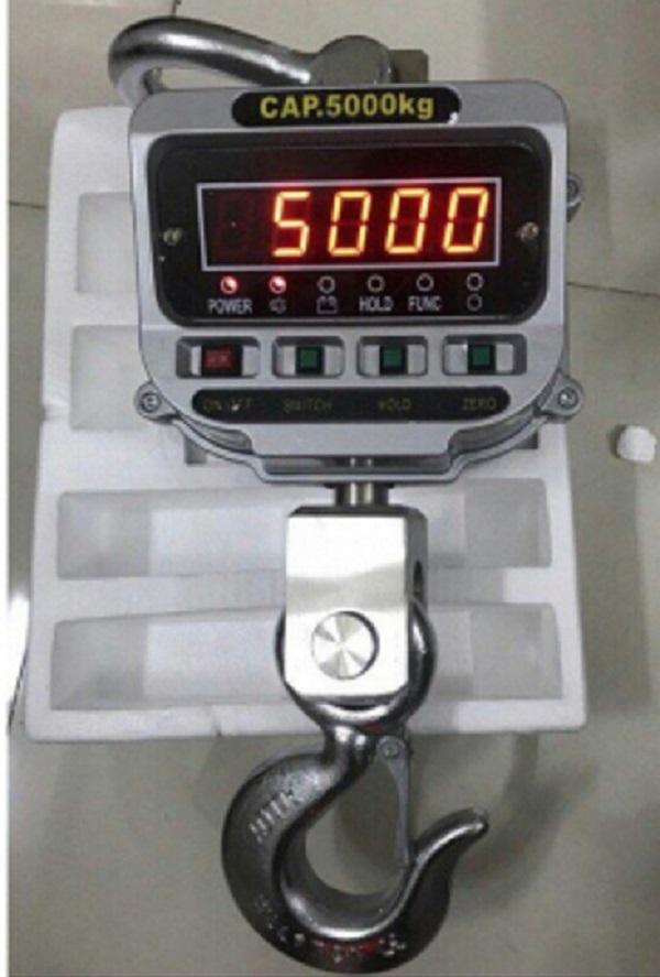 Cân treo 5 tấn – Cân móc cẩu 5 tấn giá rẻ nhất hiện nay