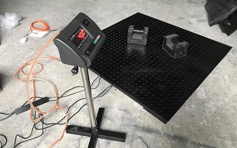 Cấu tạo của cân trọng lượng điện tử