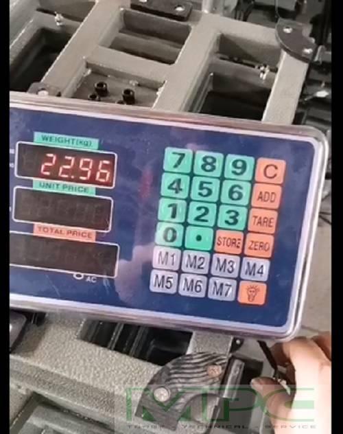 Dịch vụ sửa chữa cân tính tiền điện tử
