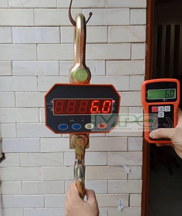 Giải pháp nào cho tình trạng cân treo điện tử 1 tấn bị nhảy số