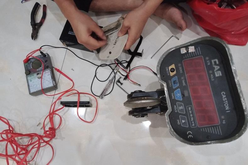 Sửa chữa cân treo điện tử 2 tấn